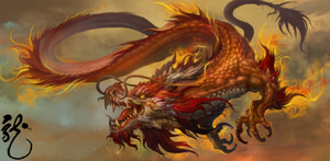 Red Chinese Dragon (Internet)