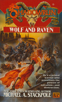Source cover en Wolf and Raven