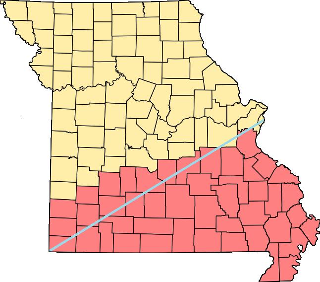 Image Missouri Countiespng Shadowrun Wiki FANDOM Powered By - Missouri counties map