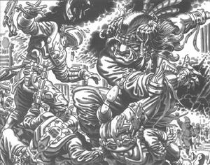 Battle of El Infierno (Shadowrun Sourcebook, California Free State)