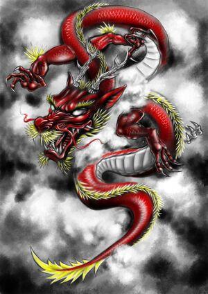 Red Dragon (YooCysco.deviantart.com)