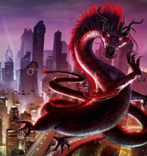 Eastern Dragon from Shadowrun Online