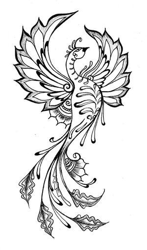 White Phoenix (kotogoddess.deviantart.com)