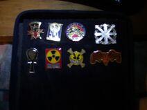 SR UNION James Rommell SR pin