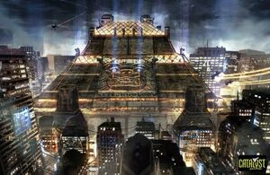 Aztechnology Pyramid (Shadowrun, Zero Day)
