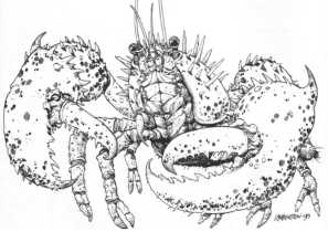 Critters Abrams Lobster
