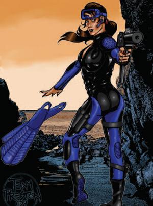 Los Hermanos del Mar from Shadowrun Sourcebook, 10 Gangs