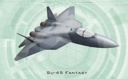Neo-Soviet Su-45 Fantasy from Shadowrun Sourcebook, EuroWar Antiques