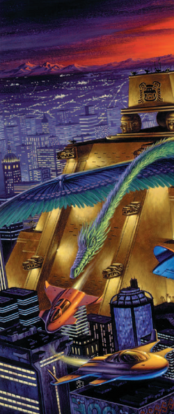 Tenochtitlan from Shadowrun Sourcebook, Sixth World Almanac