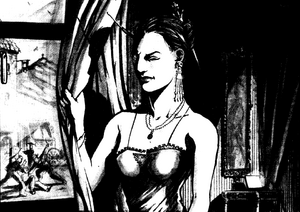 Donna Allegra Fuselli from Shadowrun Sourcebook, Shadows of Europe