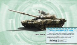 Neo-Soviet T-90 MBT from Shadowrun Sourcebook, EuroWar Antiques