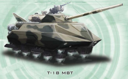 Neo-Soviet T-18 MBT from Shadowrun Sourcebook, EuroWar Antiques