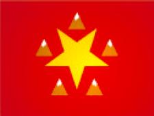 Shaanxi flag