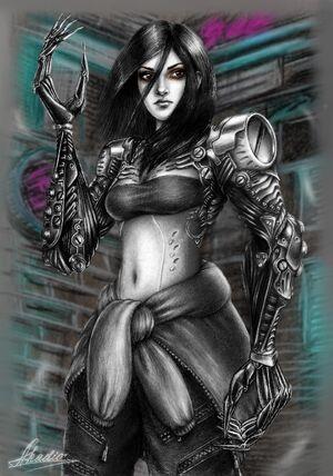 Glory (Verielle Alexandro, artstation.com)