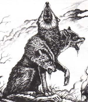 Critter Cerberus Hound