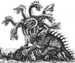 Critter Hydra Wyrm