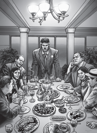 Chavez Family from Shadowrun Sourcebook, Spy Games