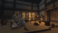 Isshin in his room