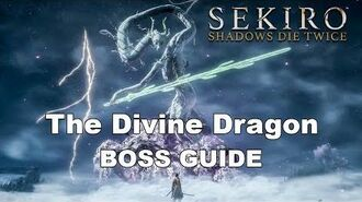 Sekiro Boss Guide - Flying with The Divine Dragon