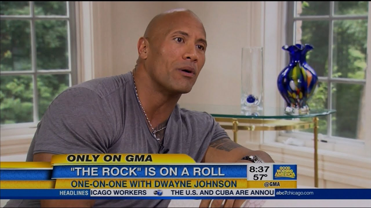 The Rock Discusses Ronda Rousey In Wrestlemania 35