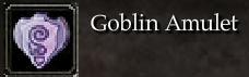 Goblin Amulet