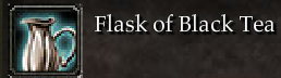 Flask of Black Tea