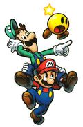 Mario and his Bro