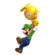 Luigi and Toad