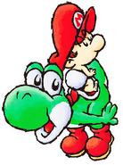 Yoshi and Baby