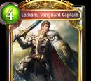 Latham, Vanguard Captain