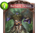 Barbaric Demon