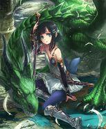 Aiela, Dragon Knight