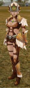 Elf Female Ebony Armor
