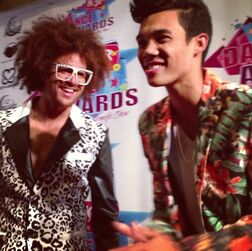 Roshon-fegan-with-redfoo