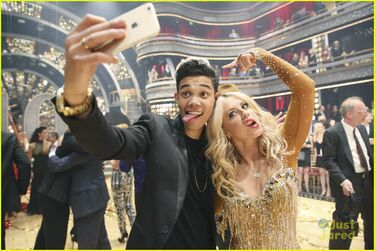 Roshon-fegan-chelsie-hightower-celebs-dwts-10th-celebration-pics-13