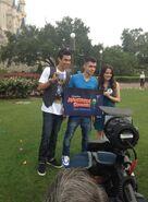 Radam-with-LauraMarano-at-DisneyLand