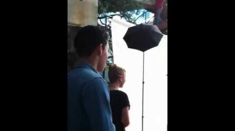 Caroline Sunshine and Roshon Fegan entrance at Expo America