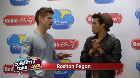 RoshonFeganRadioDisneyMonstober2013