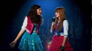 "HD Shake It Up ""Made In Japan"" Dance - Bella & Zendaya"