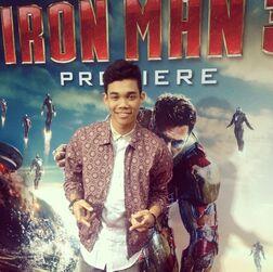 Roshon-fegan-Iron-Man-3-Premiere