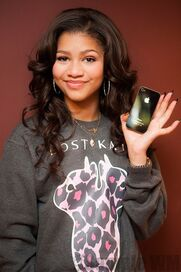 43561 Preppie Zendaya Coleman posing with her new cell phone at a house in LA 8 122 194loELEVEN