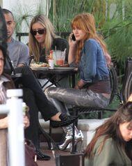 Bella Thorne Lunch38