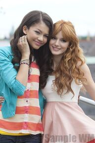 97331 Preppie Bella Thorne and Zendaya Coleman posing for a photo shoot on a hotel in Munich 10 122 150lo