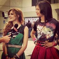 Zella-interviewed-bella-green-dres