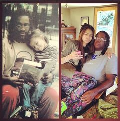 Zendaya-coleman-with-father-then-and-now