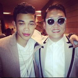 Roshon-fegan-with-PSYGanghamStyle