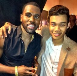 Roshon-fegan-with-JasonDerulo
