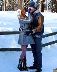 Bella-thorne-with-boyfriend-in-the-snow-(2)