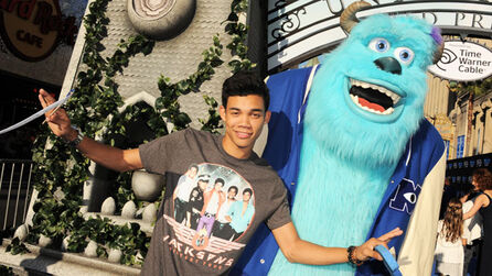 Monsters University Premiere Roshon Fegan