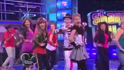 Shake it up - audition dance
